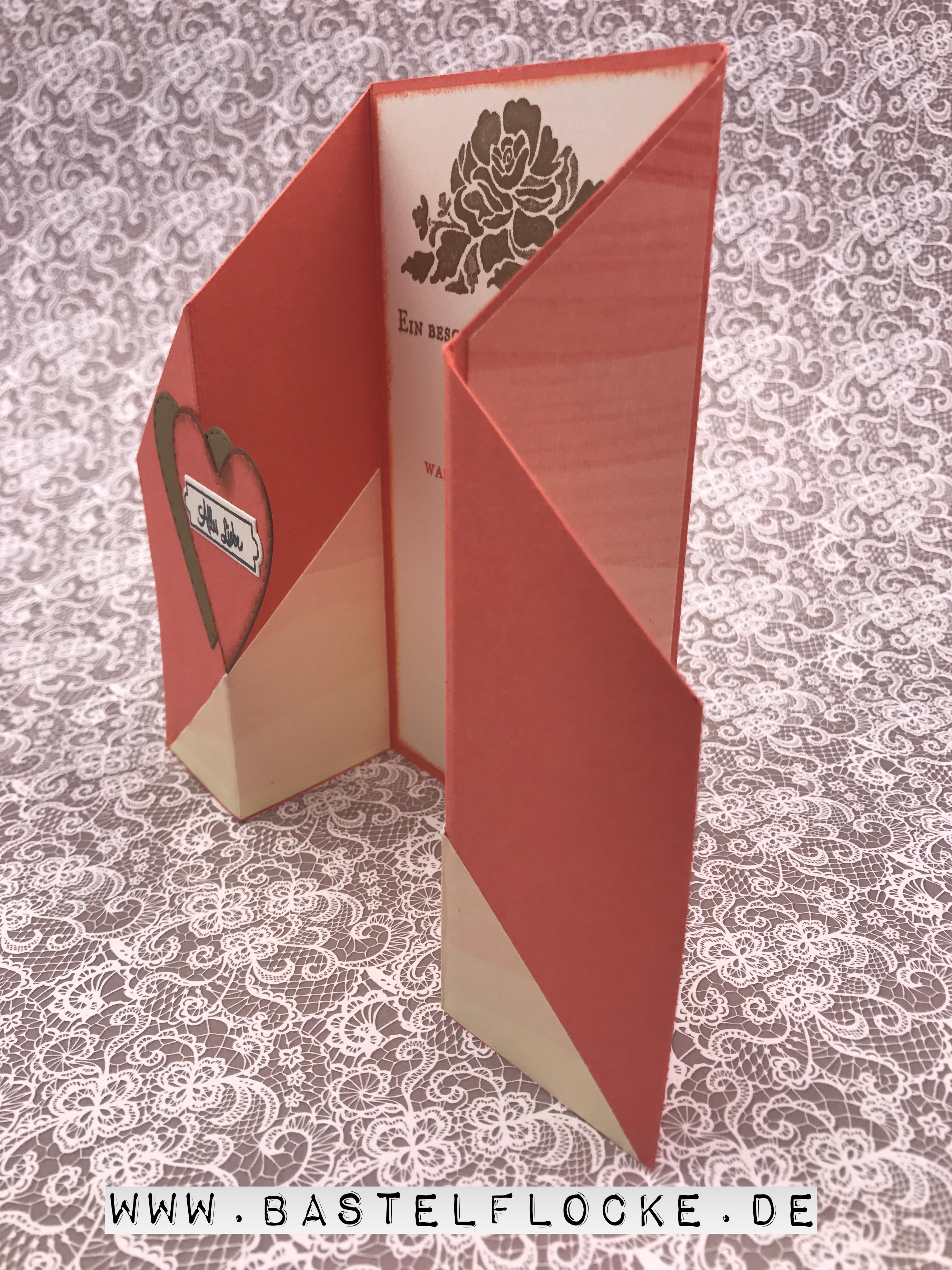 geburtstagskarte f r einen ganz besonderen menschen bastelflocke. Black Bedroom Furniture Sets. Home Design Ideas